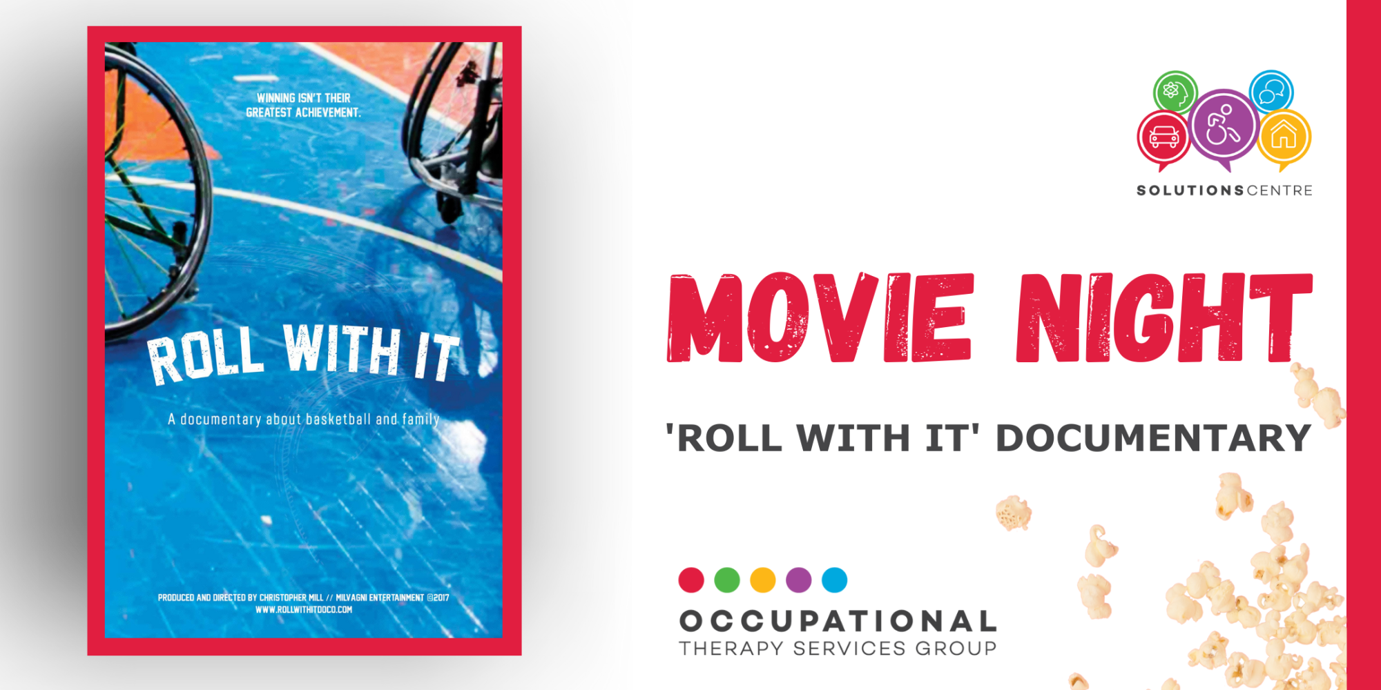 MOVIE NIGHT: 'ROLL WITH IT' DOCUMENTARY
