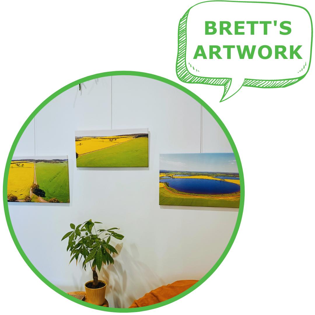 BRETT WYATT'S ARTWORK