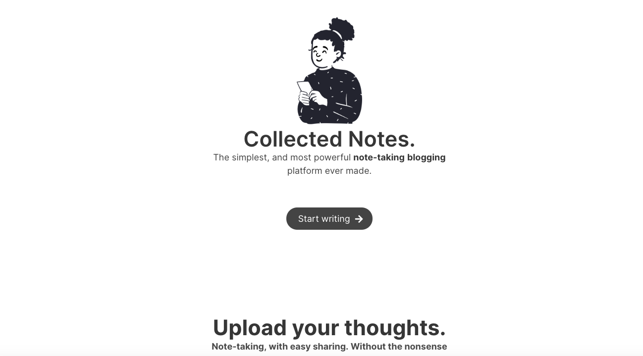 Collected notes