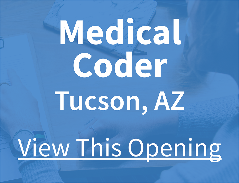 Medical Coder - Tucson, AZ