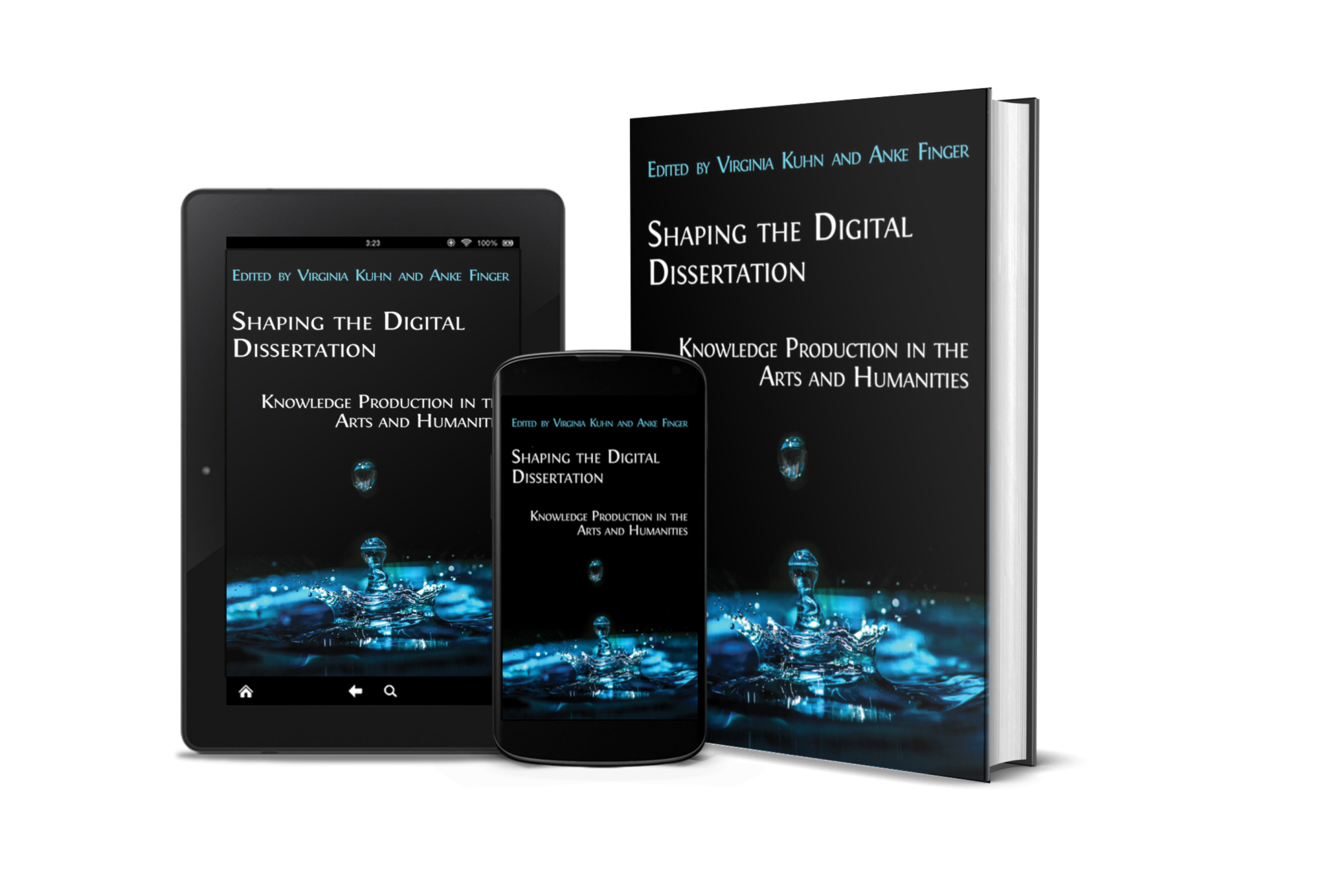 Cover of 'Shaping the Digital Dissertation: Knowledge Production in the Arts and Humanities'