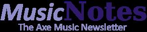 Axe Music Notes Logo